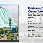 Robinsons Cybergate Center Towers 1 and 2